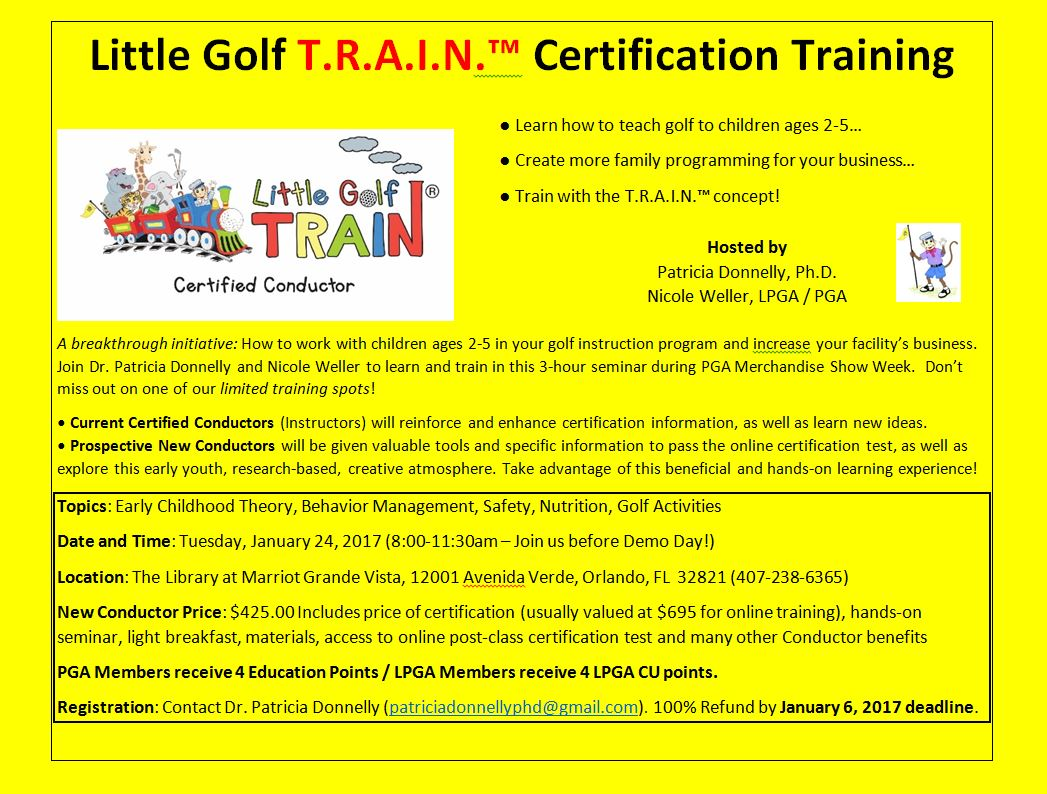 Pga Certification Images Editable Certificate Template